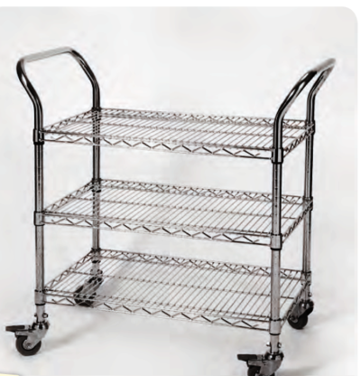 Chrome ESD trolly